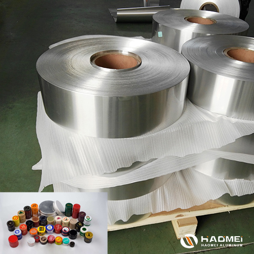 aluminium foil for bottle cap