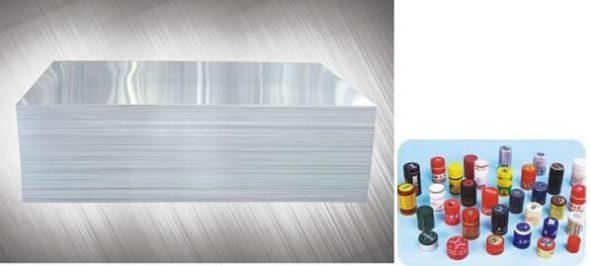 PP CAP Aluminum foil