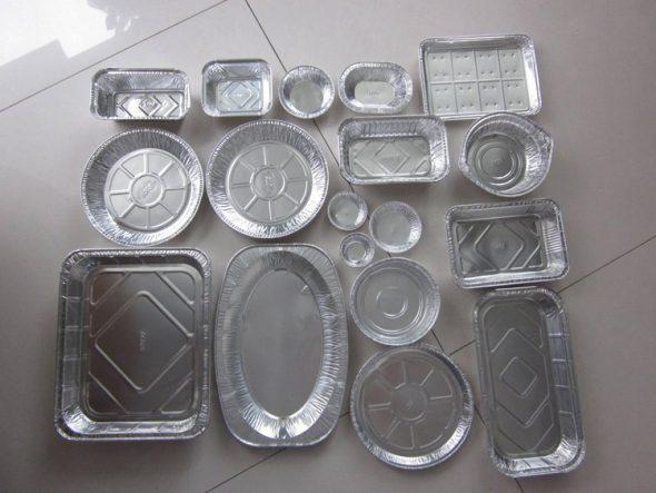 aluminm foil tray