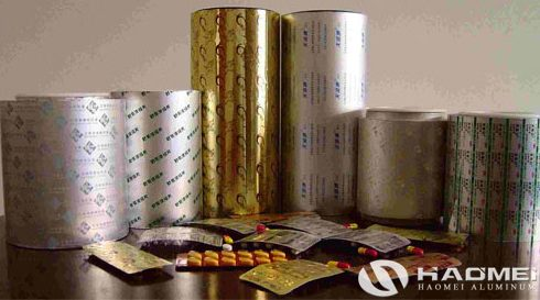 packaging aluminum foil