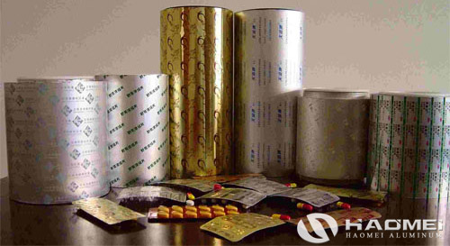 packaging aluminum foil