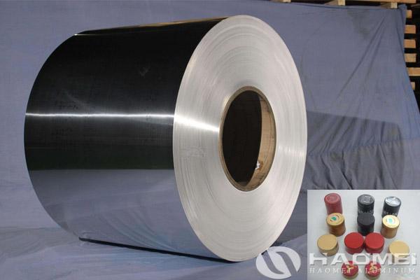 aluminium for pp caps material