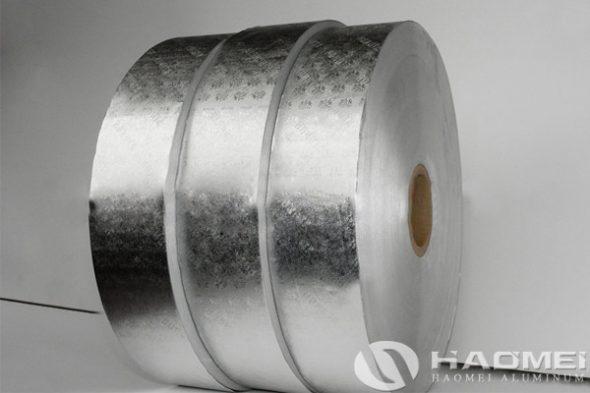 aluminum foil for cigarette packaging
