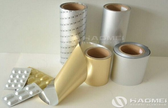 aluminum foil for medicine 8011 8021 o h18