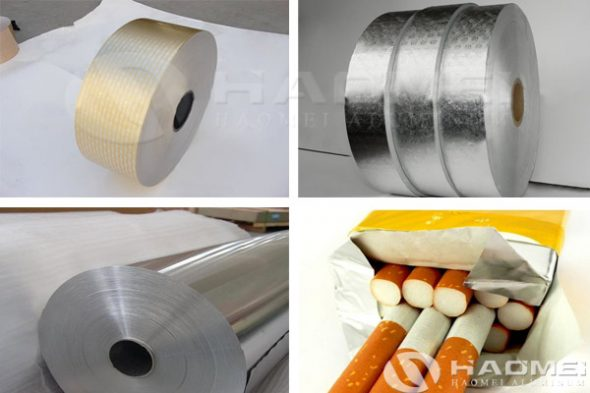 cigarette aluminium foil paper