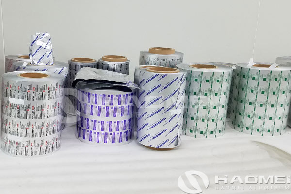 china aluminium foil for medicine
