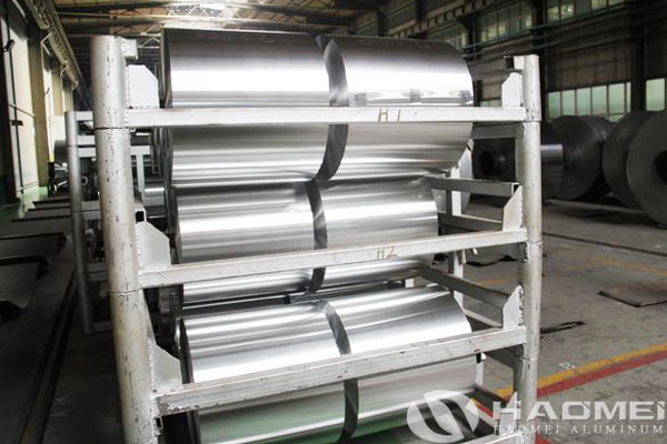 aluminum foil jumbo roll for food containers