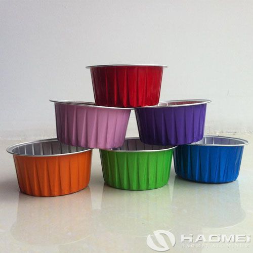 colored lacquered aluminium foil