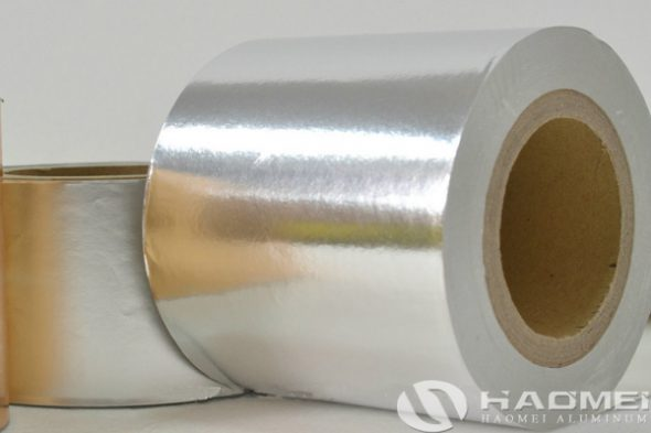 silver aluminum foil for cigarette packaging supplier