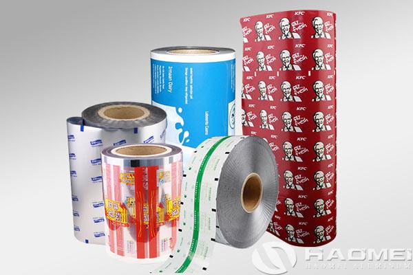 aluminum foil laminated polyester film
