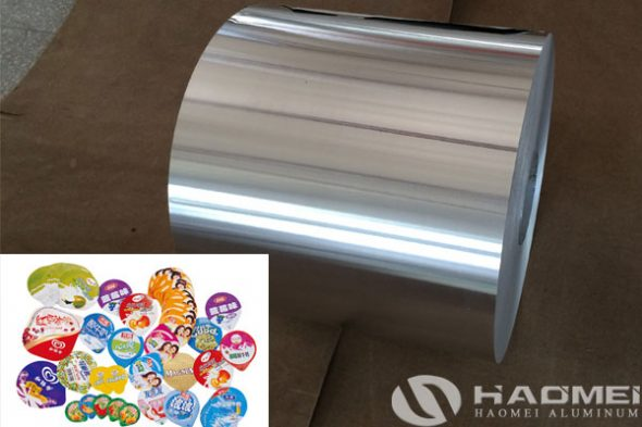 aluminum foil for yogurt packaging