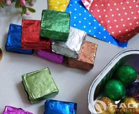 chocolate aluminium foil