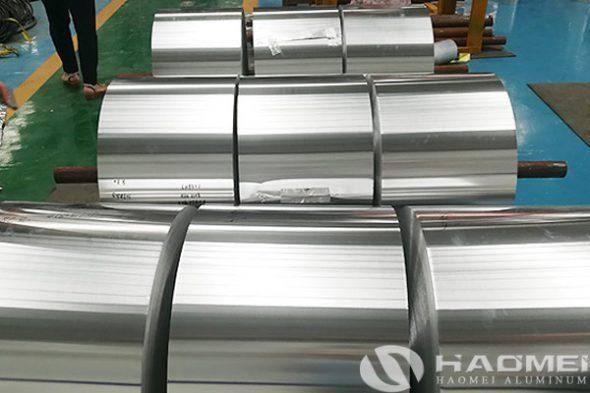 big roll of aluminum foil