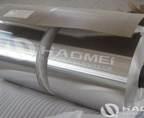 aluminium foil used for food