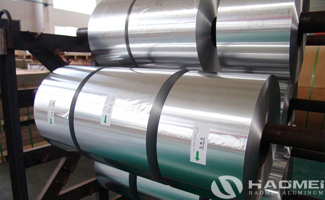 food grade aluminium foil exporter in china