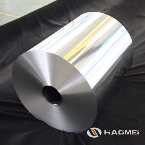 large aluminum foil roll