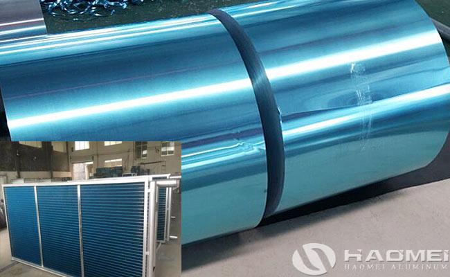 aluminum foil for heat transfer