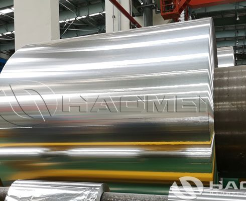 aluminium foil roll for insulation