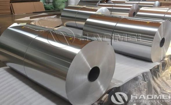 primary packing material aluminum foil
