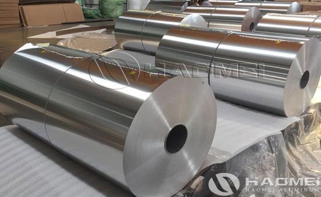 primary packing material aluminum foil