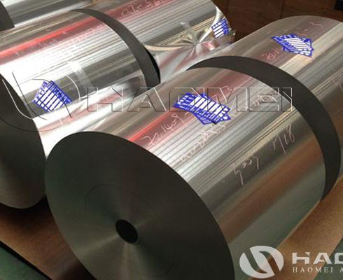 aluminium foil for air duct