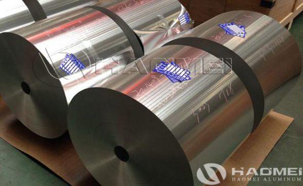 aluminium foil for air duct