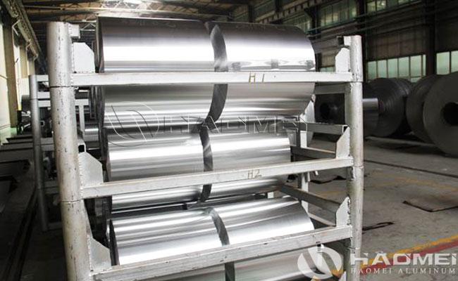 cost per ton of aluminum foil