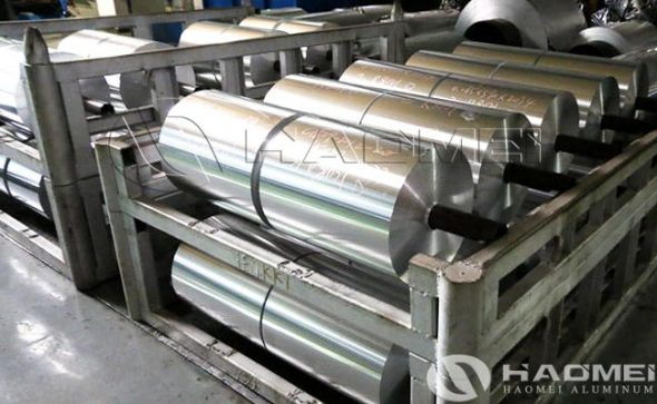 aluminum foil for container making