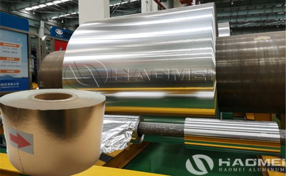 aluminium foil for chocolate wrapping