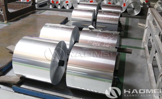 bare aluminium foil supplier