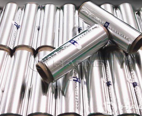 household silver food packaging aluminium foil